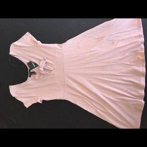 Forever 21 baby pink skater dress